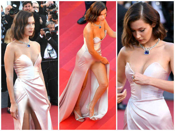 Cannes 2017: Bella Hadid's Wardrobe Malfunction Is Jaw Droppingly SHOCKING!