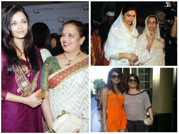 Mother's Day Special: Bollywood Celebrities With Their Mothers