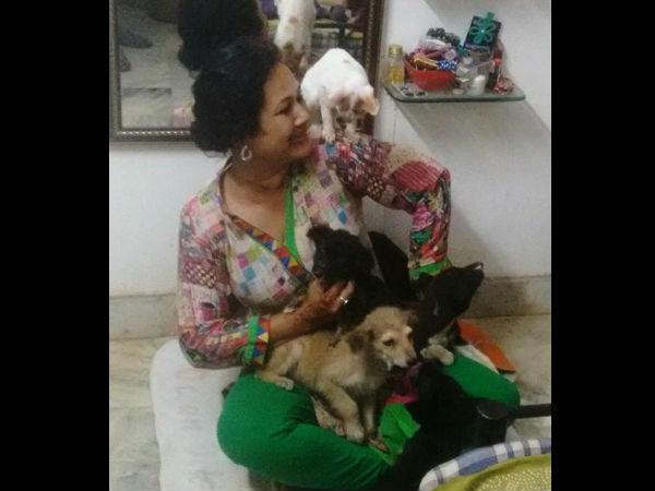 2 பி.எச்.கே பிளாட்டில் 46 விலங்குகளுடன் வாழ்ந்து வரும் அதிசய பெண்மணி!