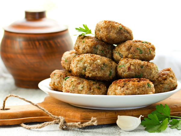 Tasty Rice Cutlet Snack Recipe