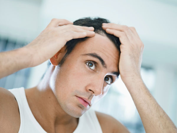how to get hair back in forehead