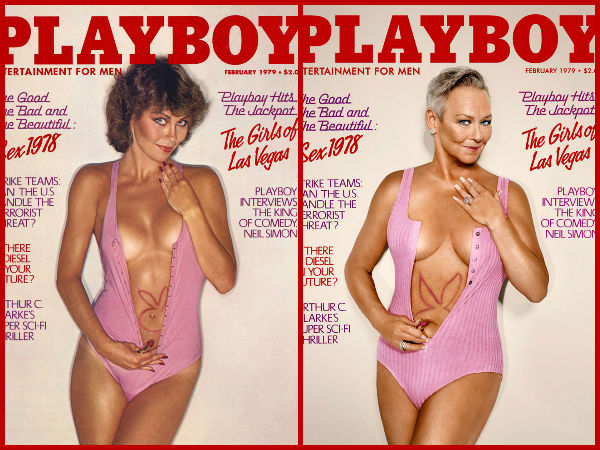 Playboy Models Recreates The Magic Again With Their Own Magazine Covers!