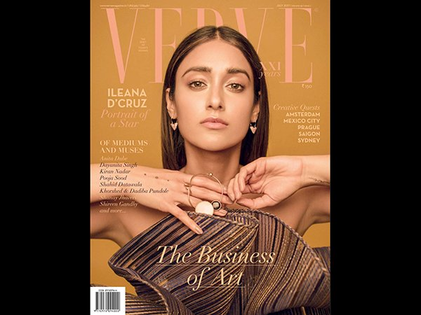 Ileana D'Cruz's Latest Shoot For Verve Looks Uniquely Classy