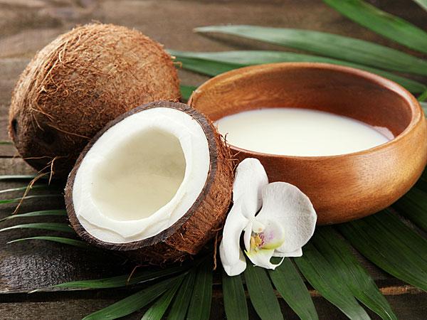 Coconut milk: