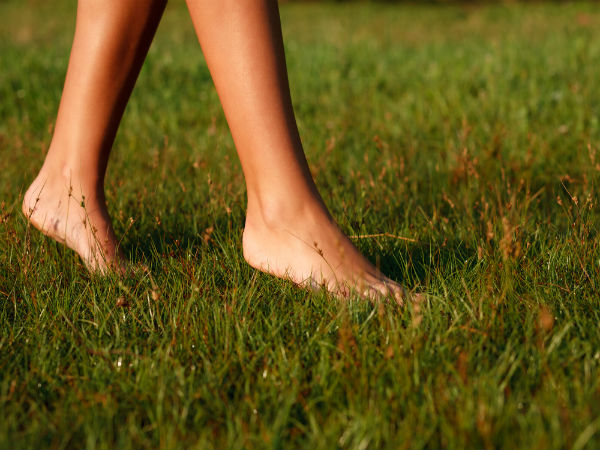 Surprising benefits of walking barefoot