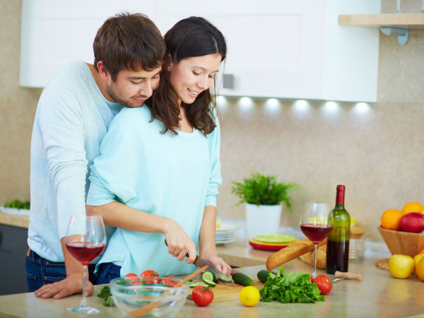Cooking in a good mood will add more taste to your food