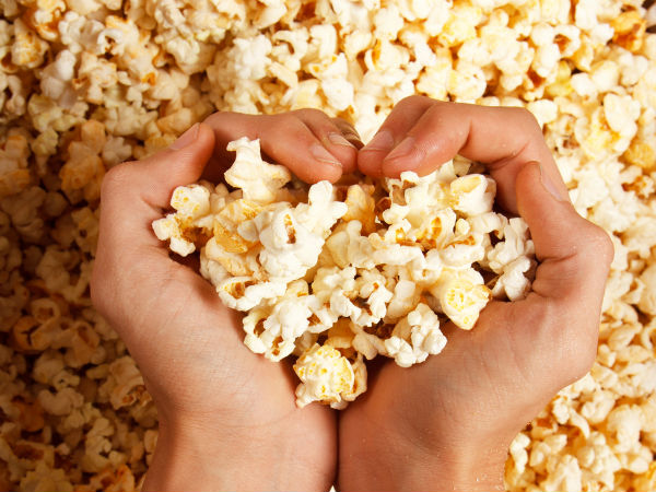 Nutritional benefits of eating popcorn