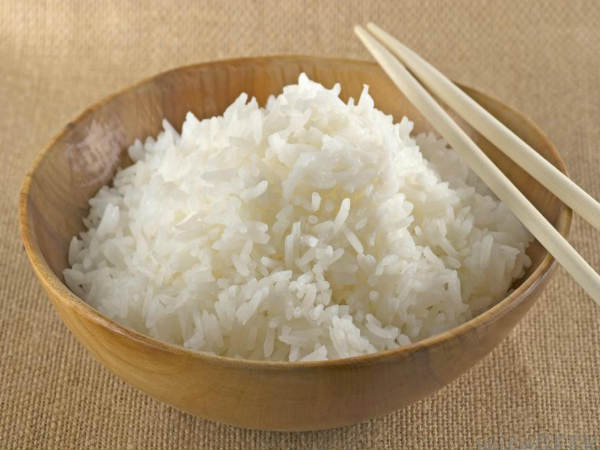 Simple tricks to identify plastic rice