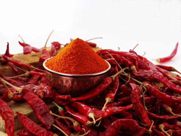 மிளகாய்த் தூள் :
