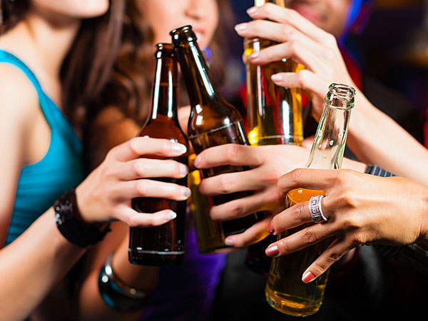 Drinking Alcohol affects men more than women