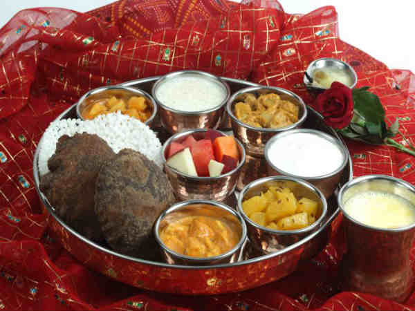 The diet to follow during navratri festival time