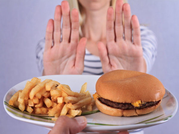 Unhealthy food choice may lead to stress