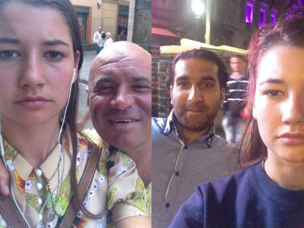 Noa Jansma Takes Selfie with Men Who Were Abuses her!