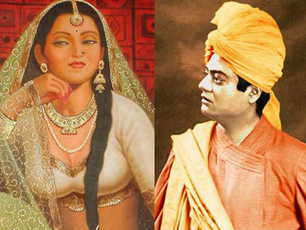 The Story of Vivekananda and A Famous Prostitute about Indifferent