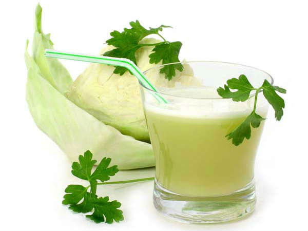 Health Benefits of cabbage water