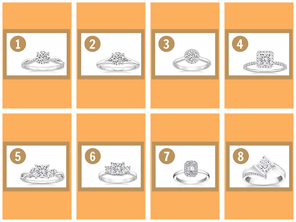 Pick An Engagement Ring And Know When You Will Get Married