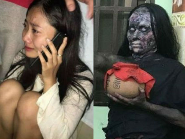 Cambodian Actress Who Got Possessed By Ghost During Shooting