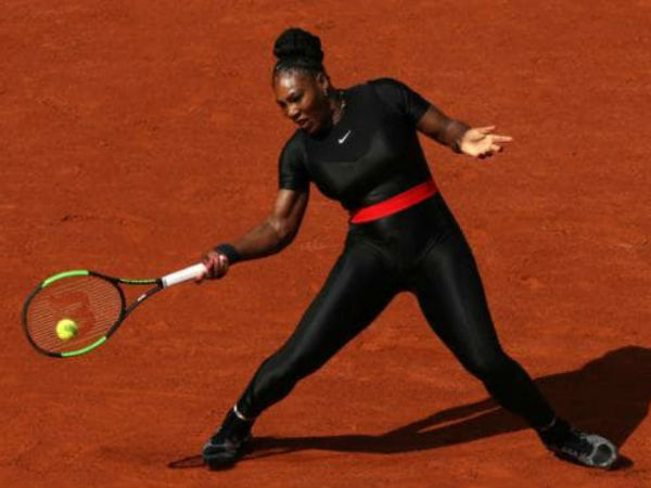 Serena Williams Black Catsuit Makes All The Mothers Out There!