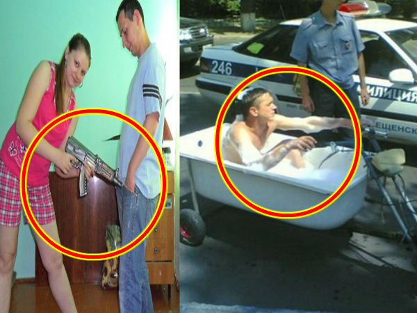 Things You Can See Only in Russia!