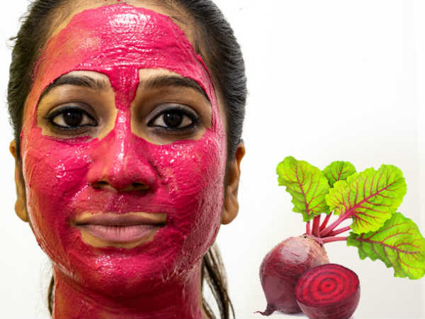 Beetroot Juice Face Pack For Glowing Skin