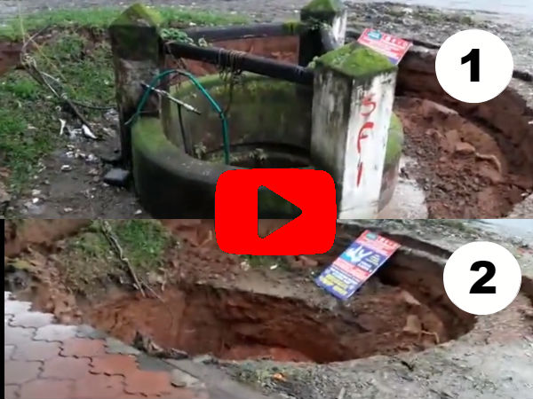 Scary Video Of Well Sinking In Like It Was Never There!
