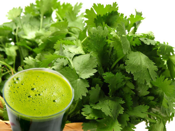 Health benefits of Coriander leaves