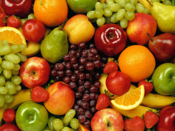 list of unhealthy fruits and vegetables should avoid