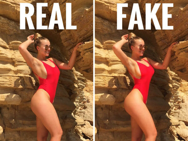 Woman Reveals the Fake side of Instagram in the Most Epic Way!