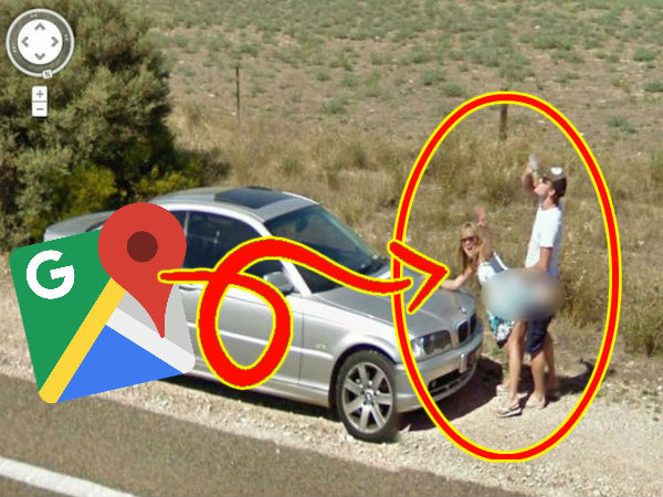 Funny Photos That Caught on Google Map Street View