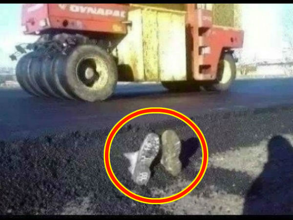 Funny Pics: Road Construction Fails