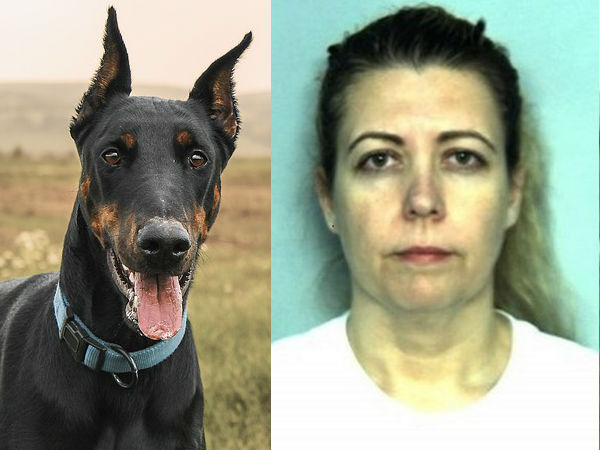 Woman Had Threesome with Her Husband and Doberman Dog Arrested!