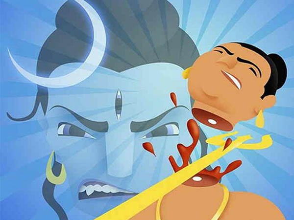 why Lord Shiva cut Brahmas head