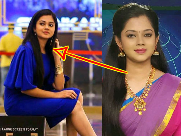 Different Looks of News Anchor Anitha Sampath
