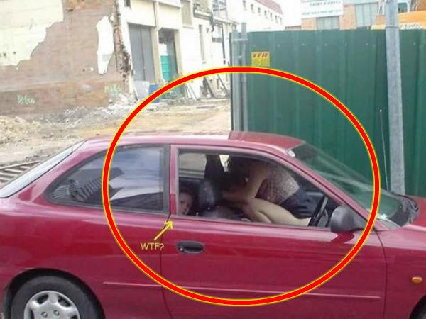குழந்தைகள் முன் ச்சீ, ச்சீ செயலில் ஈடுபட்ட BAD மம்மீஸ் - #FunnyPhotos