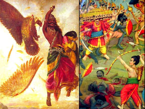 போரில் இந்திரஜித்
