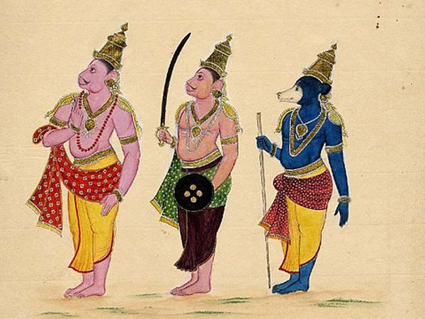 The only one who saw Lord Rama and Krishna
