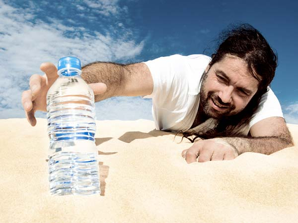 Why we feel thirsty even after drinking water?