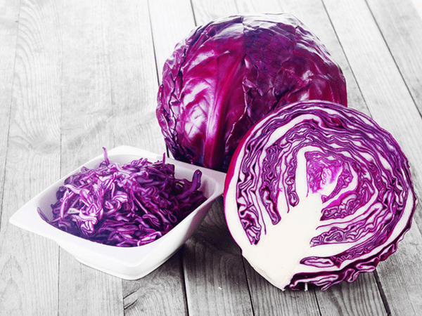 Health benefits of eating purple cabbage
