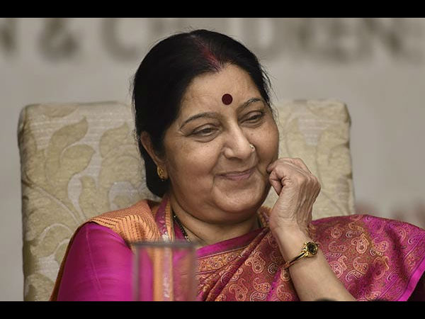 Former external affairs mininster Sushma Suvaraj passes away