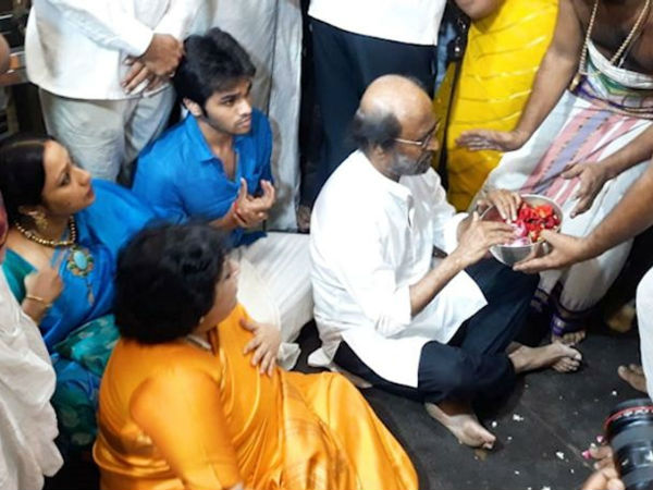 Celebrities Who Visits Athi Varadar Temple In Kanchipuram