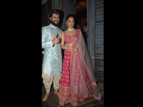 Vijay Devarakonda And Kaira Advani Woo Us With Their Regal Outfits.
