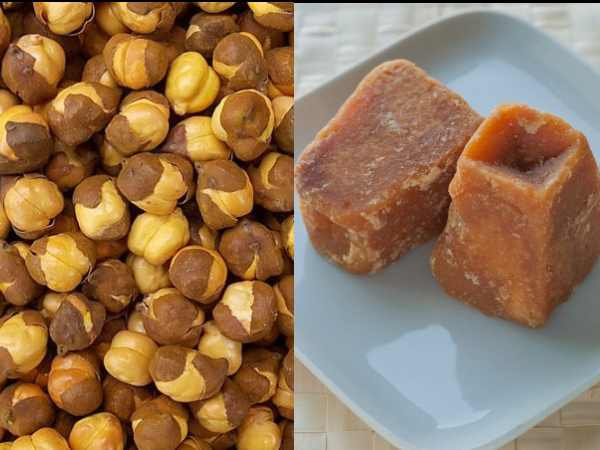 Benefits Of Eating Roasted Chana And Jaggery