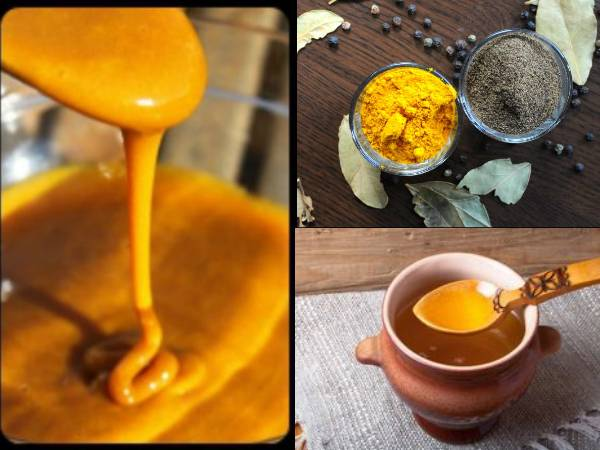 Treat Indigestion and Boost Immunity With Ghee, Turmeric And Black Pepper