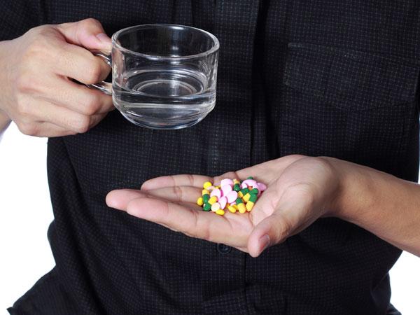 சில மருந்துகளின் குறுக்கீடு
