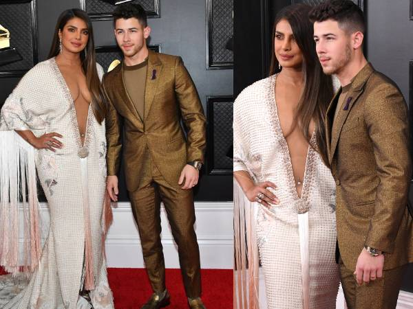 Priyanka Chopra and Nick Jonas Dazzle at the Grammys 2020
