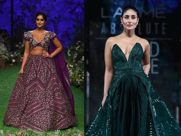 Bollywood Stars Walk the Ramp at Lakme Fashion Week S/R 2020