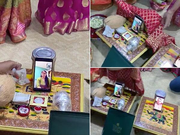 ஆன்லைனில் நிச்சயதார்த்தம் செய்த இந்தியர்!.. இப்படியாவது நடக்குமா? என்ற ஏக்கத்தில் 90கிட்ஸ்…!