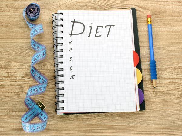 Create a diet / fitness schedule