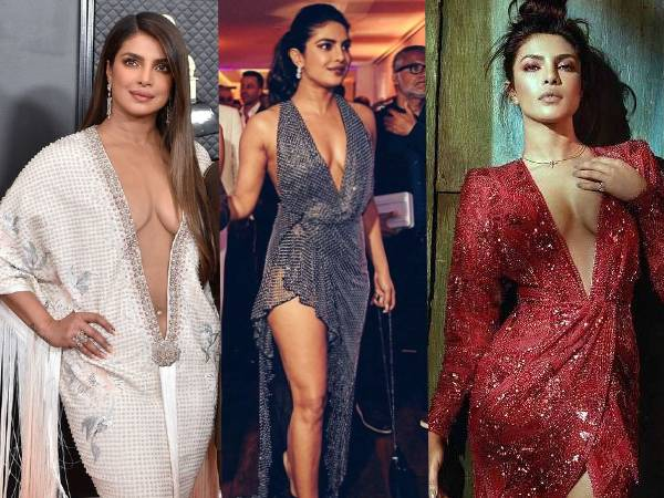 6 Times Priyanka Chopra Rocked A Plunging Neckline Dress