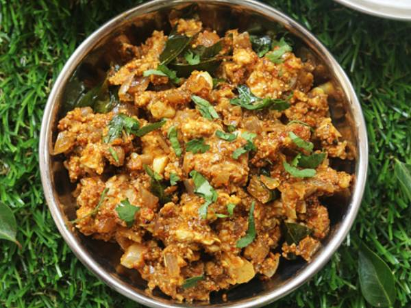 Chettinad Style Brain Fry Recipe In Tamil